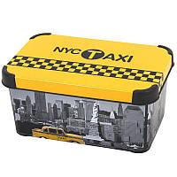 Коробка для хранения вещей 6 литров Stockholm Taxi Curver