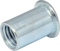 RF-Гайка М3/0,5-1,5 клеп пл D5