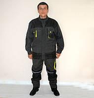 Костюм-комбинезон мужской (черный)