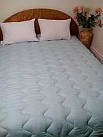 Зимнее шерстяное одеяло Билана бязь набивная 200х220 см