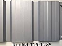 Профлист RUUKKI  Т 15 Standard  полиэстер 0,45