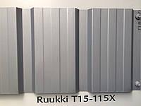 Профлист RUUKKI  Т 15 Standard  PEMA 0,45