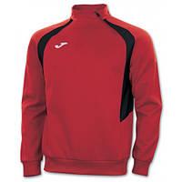 Реглан красно-чёрный Joma CHAMPION III 100019.601 тренировочный с коротким замком (спортивная кофта )