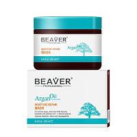 BEAVER Argan Oil Moisture Repair Mask - Маска восстанавливающая с маслом арганы, 250 мл