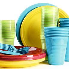 Одноразовий посуд для вечірки