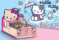 Детская кровать Hello Kitty
