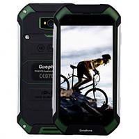 Смартфон Телефон Бронированный Land Rover V19 (Guophone) Green IP68 Защита от Ударов Воды Грязи