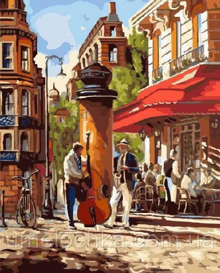 Рисование по номерам Уличные музыканты (BRM9906) 40 х 50 см