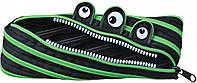 Пенал-молния Yes Black/green (531456)