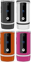 Оригинальный телефон Motorola W375  pink