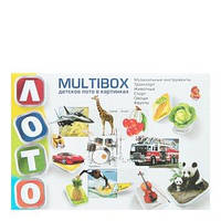 """Детское лото в картинках """"Multibox"""" Danko"""