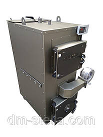 Двухконтурный пеллетный твердотопливный котел с автоматическим удалением  золы 25 кВт
