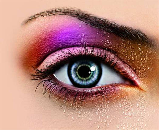Палитра цветных теней для макияжа с румянами MORPHE 05Р21, фото 2