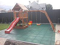 Деревянная детская площадка МАКСИ 2