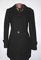 Черное Шерстяное Пальто от Esprit Размер: 46-М
