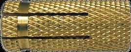 Дюбель ETO М5х20 d6.5 латунь