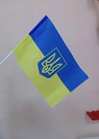 Украинские флажки на палочке, фото 1
