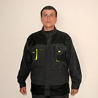 Куртка мужская плотная Польша (черная)
