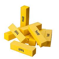 Бафик для ногтей, 4-х сторон, цветной 10шт/упаковка, фото 1