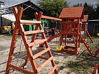 Деревянная детская площадка ДП-1, фото 1