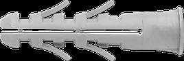 Дюбель 5x25  буртик нейлон UPA/L