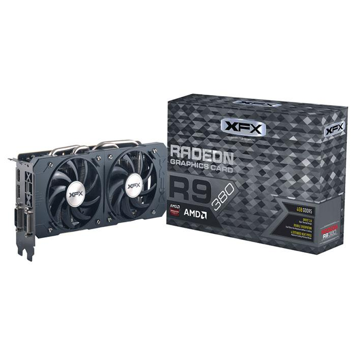 "Видеокарта XFX R9 380 256bit 4GB GDDR5 ""Over-Stock"""