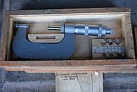 Микрометр. Слесарный, мерительный инструмент СССР