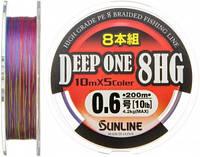 Шнур Sunline Deep One 8HG 200m 0.6/0.128мм 4.2кг (1658.05.50)