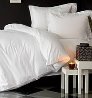 Комплект постельного белья евро Karaca Home Piano сатин  Erva белый