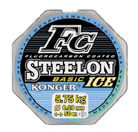 Зимняя леска Konger Steelon FC Basic Ice 0.22mm 50m