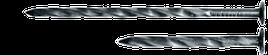 Цвяхи 3.6/100 гвинтові /1кг/ шліф