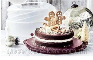 Кондитер Трансформер для зберігання тортів,тістечок,кексів.Tupperware