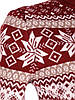 Красный свитер со снежинками 44-46 (в расцветках), фото 6