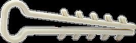 Дюбель-ялинка 8x4мм д/пл.кабелю