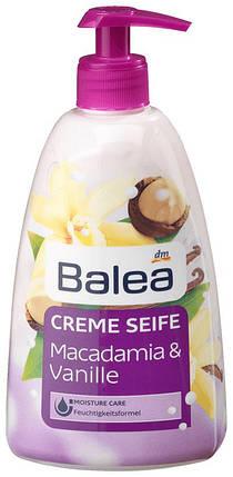 Жидкое мыло Balea  с ароматом макадамии и ванили дозатор 500мл, фото 2