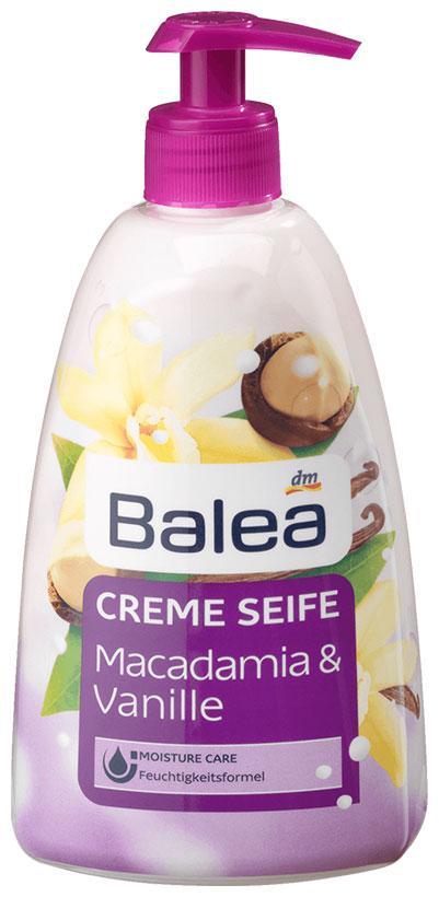 Жидкое мыло Balea  с ароматом макадамии и ванили дозатор 500мл