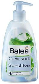 Жидкое крем-мыло Balea Sensitive с ароматом алоэ вера с дозатором 500мл