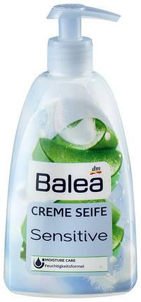 Жидкое крем-мыло Balea Sensitive с ароматом алоэ вера с дозатором 500мл, фото 2