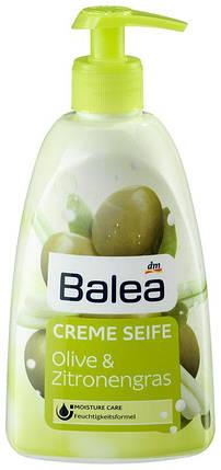 Жидкое крем-мыло Balea с ароматом оливы с дозатором 500мл, фото 2