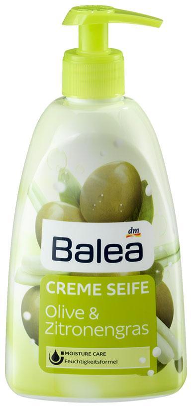 Жидкое крем-мыло Balea с ароматом оливы с дозатором 500мл