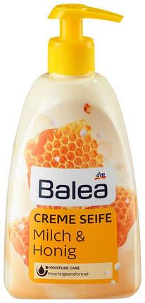Жидкое крем-мыло Balea с ароматом молока и меда с дозатором 500мл, фото 2