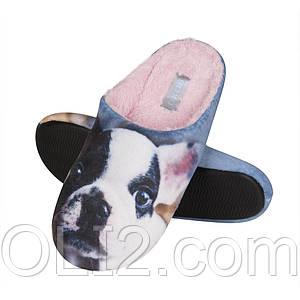 Тапочки домашние женские тапки SOXO год собаки