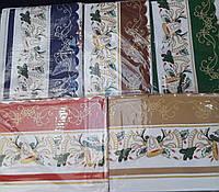 Красивая новогодняя скатерть красного цвета, р-р 120х150., 120/150 (цена за 1 шт. + 30 гр.)