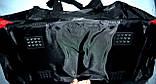 Большая черная спортивная дорожная сумка Адидас с цветными вставками 50*26 (в ассортименте), фото 6