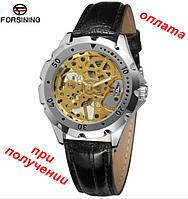 Мужские унисекс механические часы скелетон Forsining Winner Skeleton купить