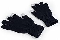 Сенсорные перчатки черные, унисекс
