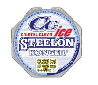 Зимняя леска Konger Steelon CC Cristal Clear Ice 0.08mm 50
