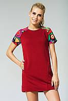 Повседневное Платье S, бордовый