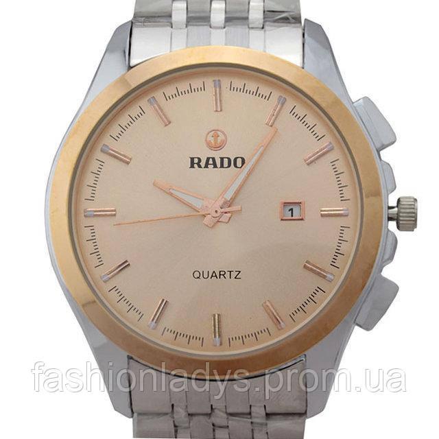 Реплика наручных часов Rado Silver Gold