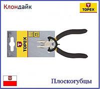 Плоскогубцы прецизионные TOPEX 32D721
